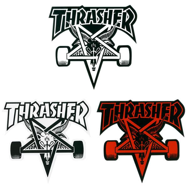 Why does Thrasher have Baphomet as it logo  skateboarding