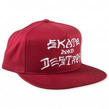 Кепка Skate And Destroy Snapback
