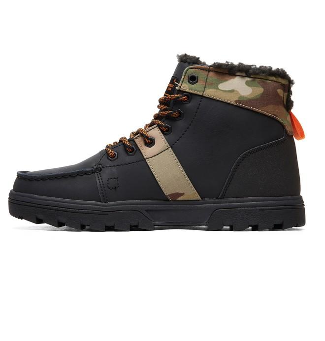 БОТИНКИ WOODLAND M BOOT KMI Черный