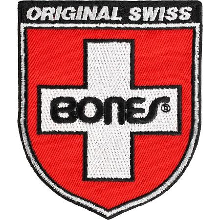 Нашивка Bones Swiss Sheld купить в Boardshop №1