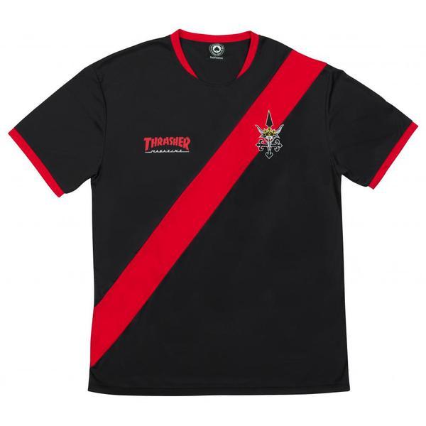 Футболка Thrasher Futbol Jersey купить в Boardshop №1