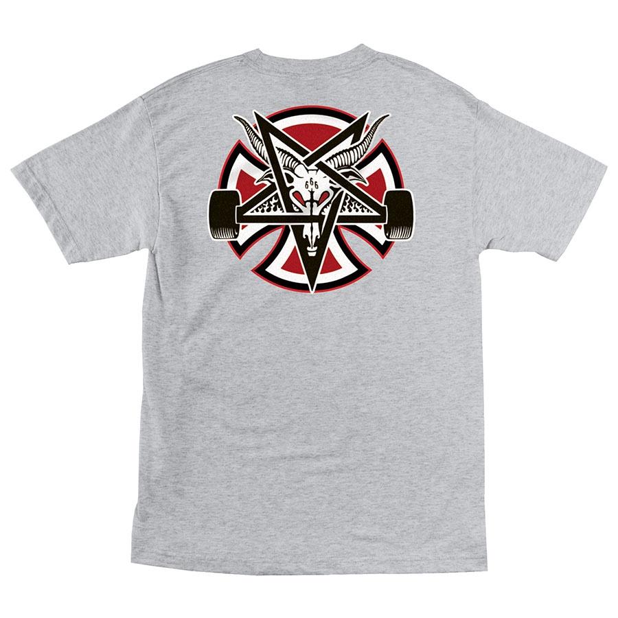 Футболка Independent x Thrasher Pentagram Cross Regular купить в Boardshop №1