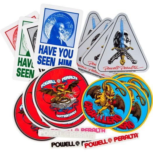 Наклейка Powell Peralta Assorted Stickers купить в Boardshop №1