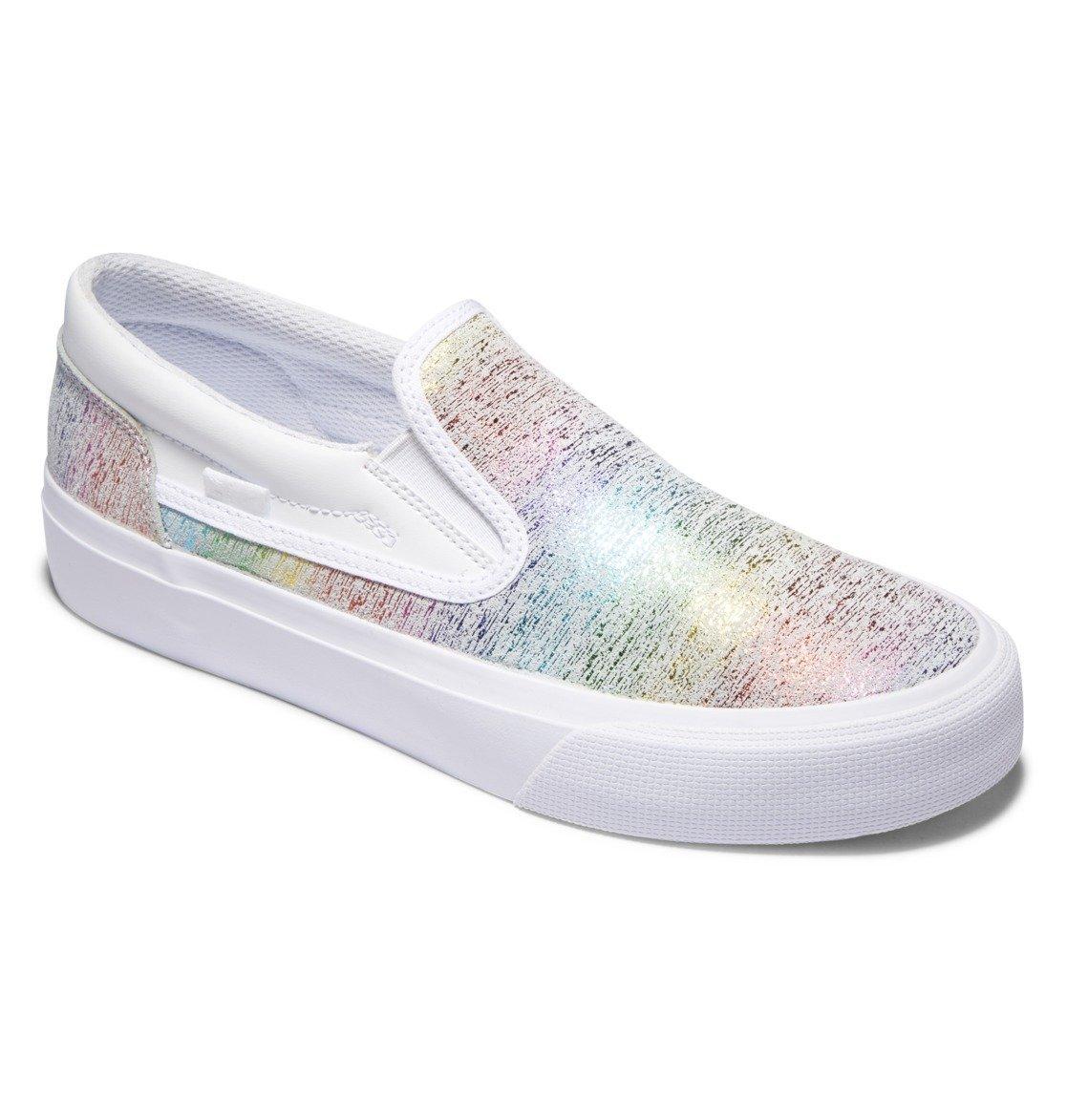 Слипоны DC shoes Trase Slip Platform купить в Boardshop №1