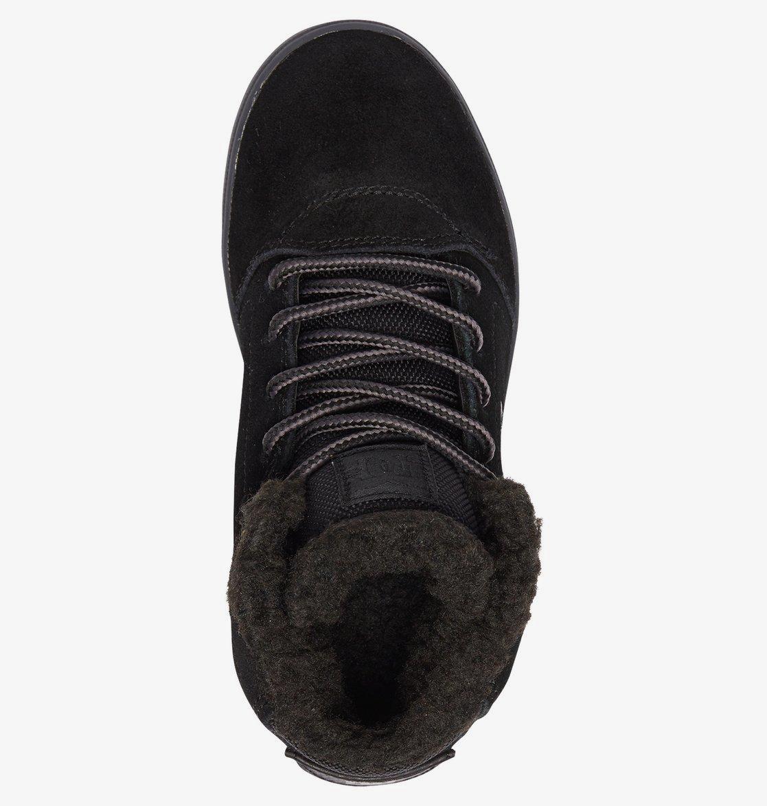 Детские зимние кеды DC shoes Crisis High WNT купить в Boardshop №1