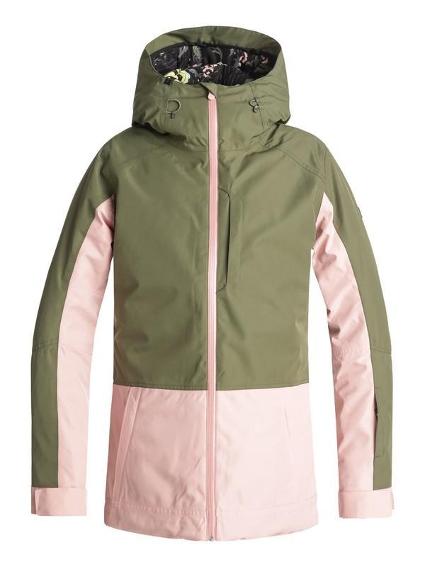 Куртка для сноуборда Roxy Torah Bright Snowflake купить в Boardshop №1