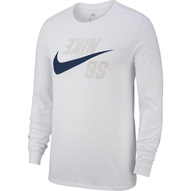 Лонгслив Nike SB Backwards купить в Boardshop №1
