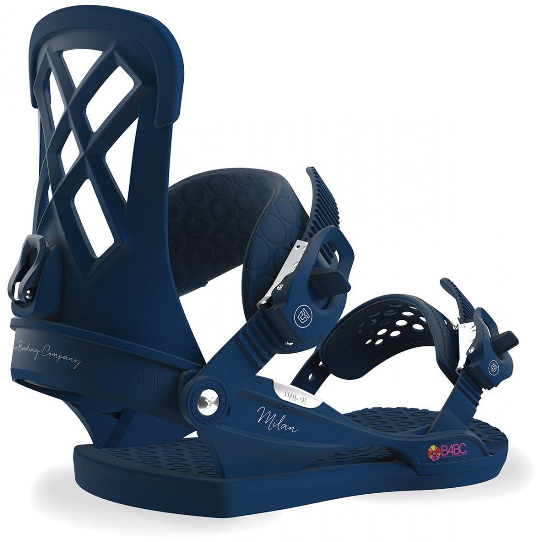 Крепления для сноуборда Union Milan купить в Boardshop №1
