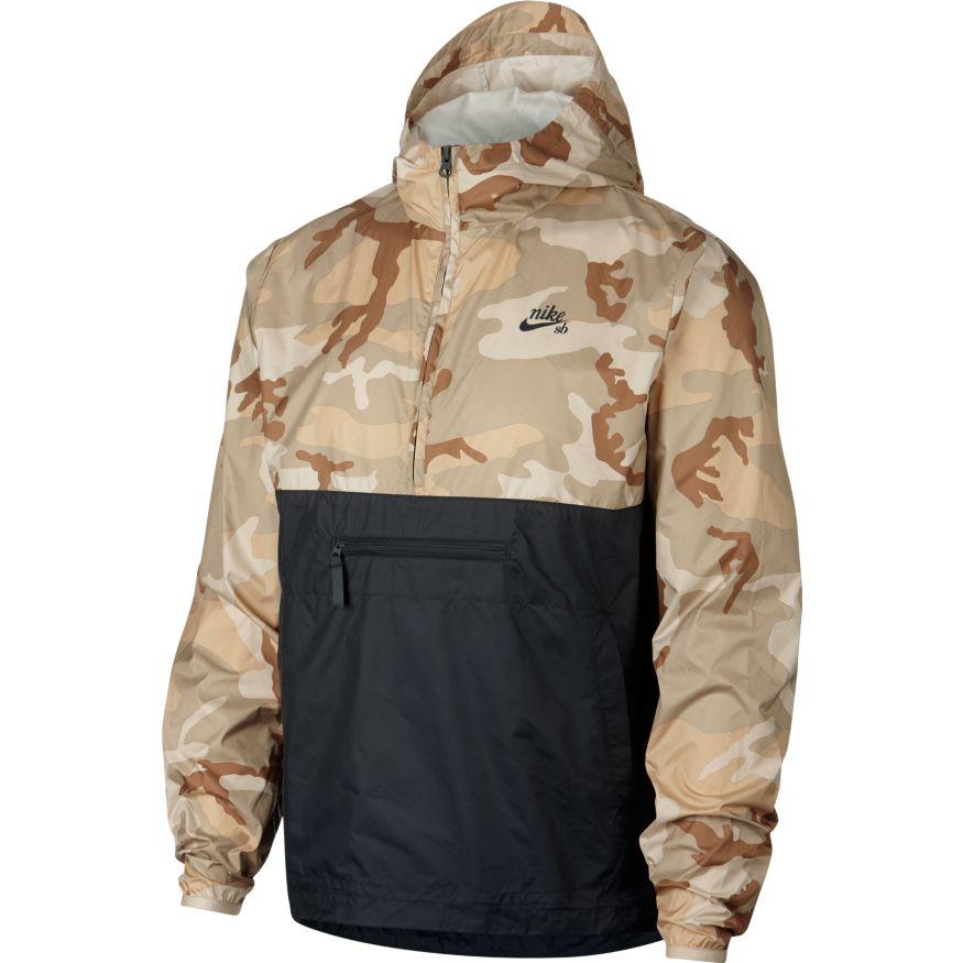 Анорак Nike SB Jacket Camo купить в Boardshop №1