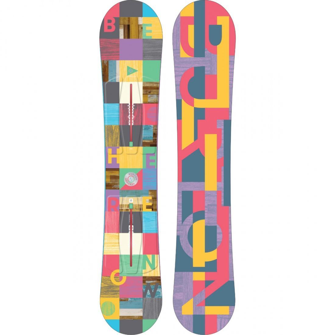 Сноуборд Burton Feather купить в Boardshop №1