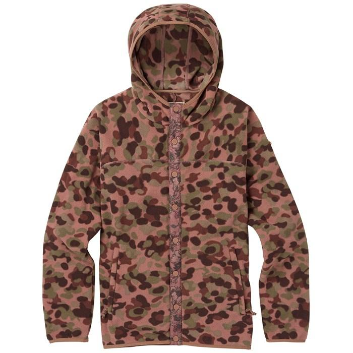 Толстовка Burton Hearth Snap-Up Fleece купить в Boardshop №1