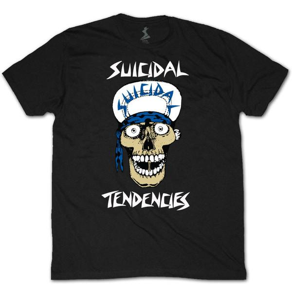 Футболка Dogtown&Suicidal Lance Mountain Skull купить в Boardshop №1