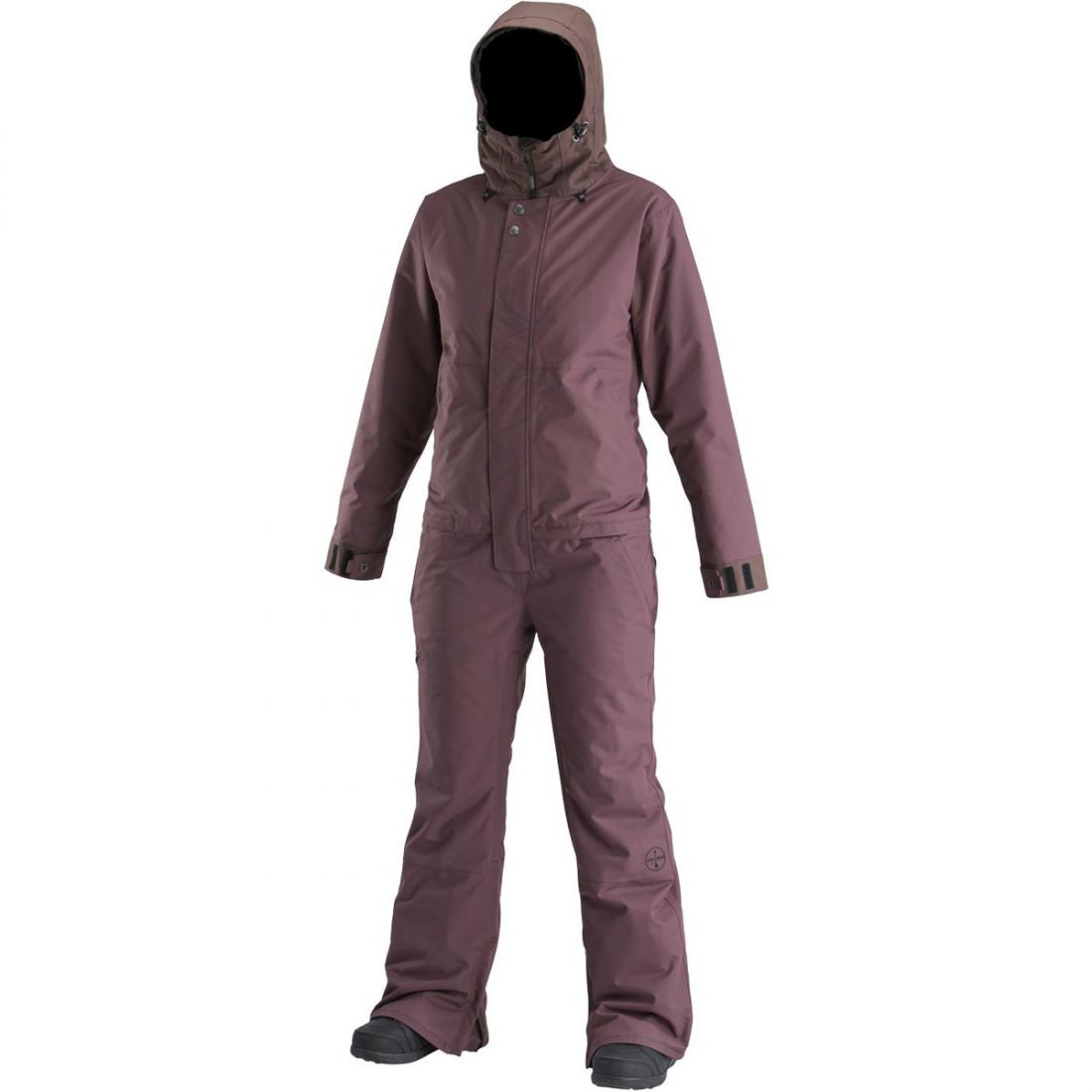 Комбинезон WOMEN'S INSULATED FREEDOM SUIT жен. Бордовый