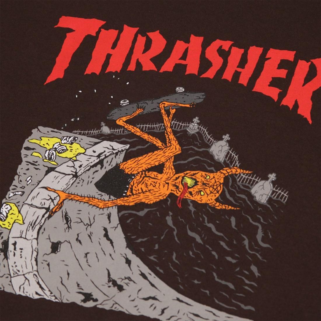 Футболка Thrasher Neckface Invert купить в Boardshop №1