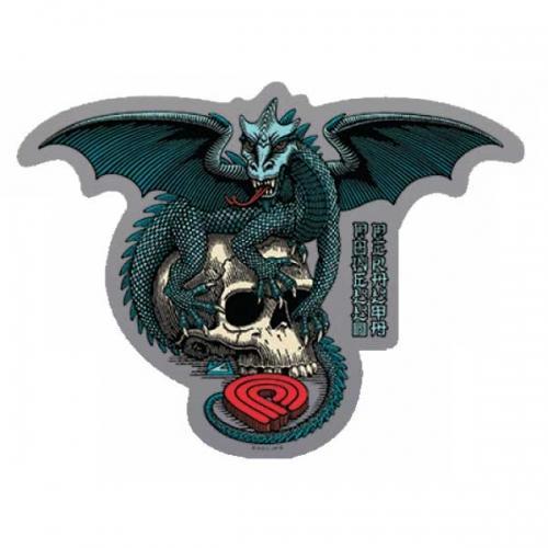 Наклейка Powell Peralta Dragon Skull купить в Boardshop №1