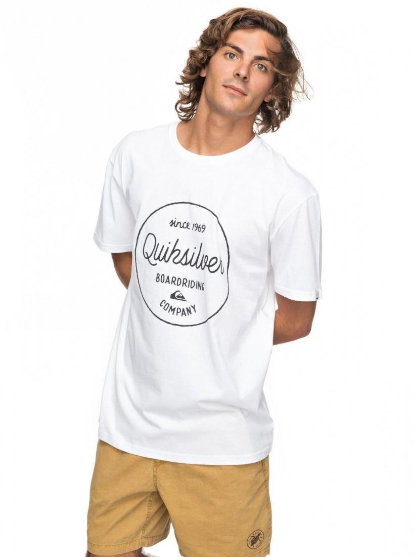 Футболка Quiksilver Classic Morning Slides купить в Boardshop №1