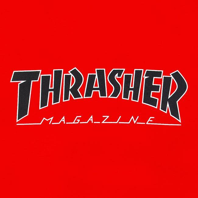 Футболка Thrasher Outlined купить в Boardshop №1