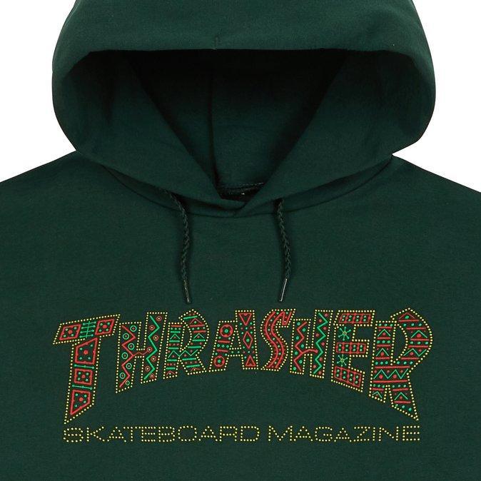 Толстовка Thrasher Davis Hood купить в Boardshop №1