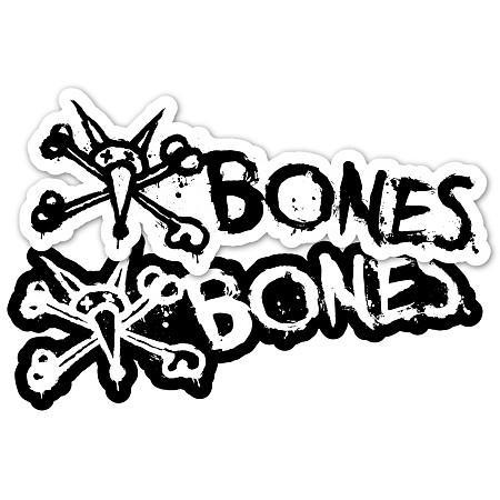 Наклейка Bones VATO TEXT 6 купить в Boardshop №1