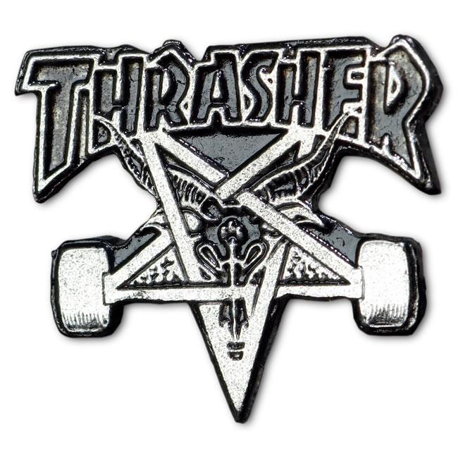 Значок Thrasher Skate Goat Lapel купить в Boardshop №1