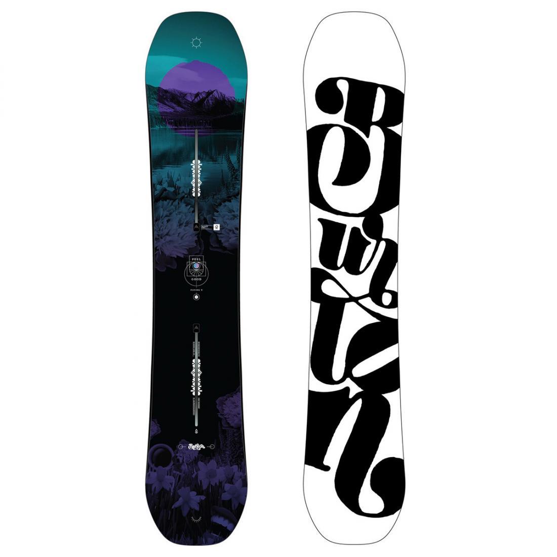 Сноуборд Burton Feelgood Flying V купить в Boardshop №1