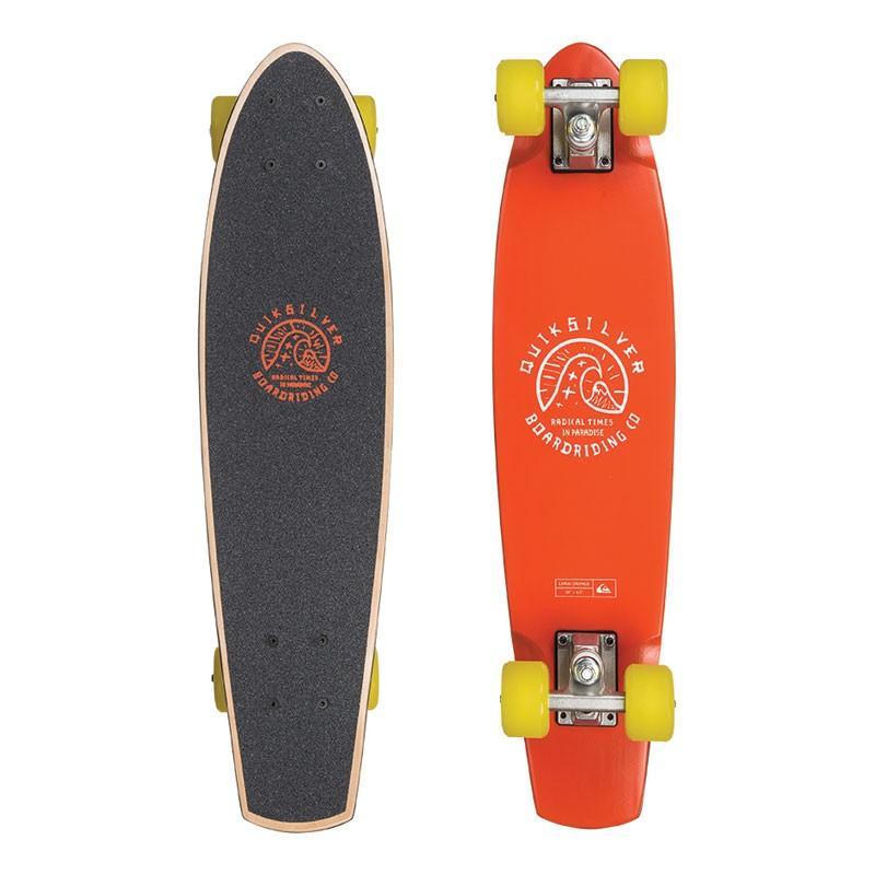 Скейтборд Quiksilver LANAI ORANGE купить в Boardshop №1