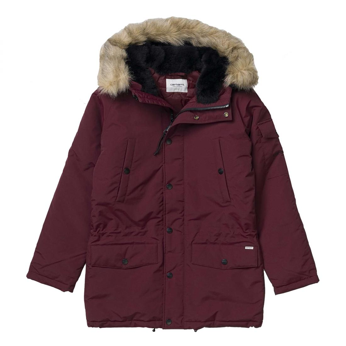 Куртка Anchorage Parka Бордовая