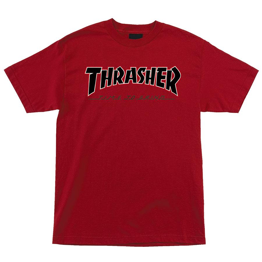 Футболка Independent x Thrasher TTG Regular купить в Boardshop №1