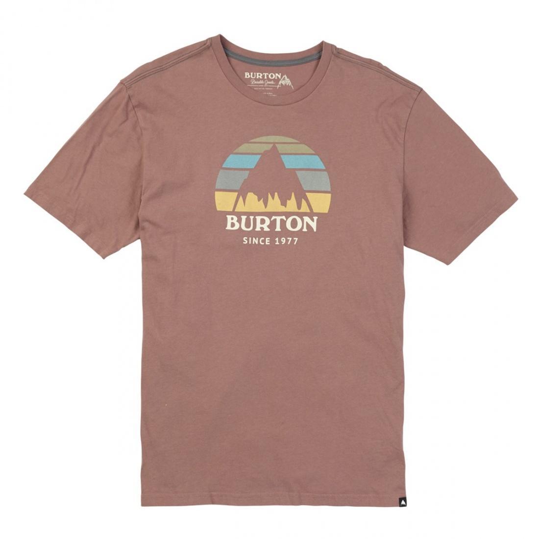 Футболка Burton Underhill Logo Short Sleeve купить в Boardshop №1