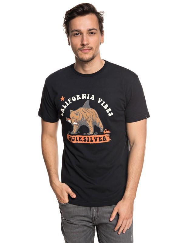 Футболка Quiksilver Bear Shark купить в Boardshop №1