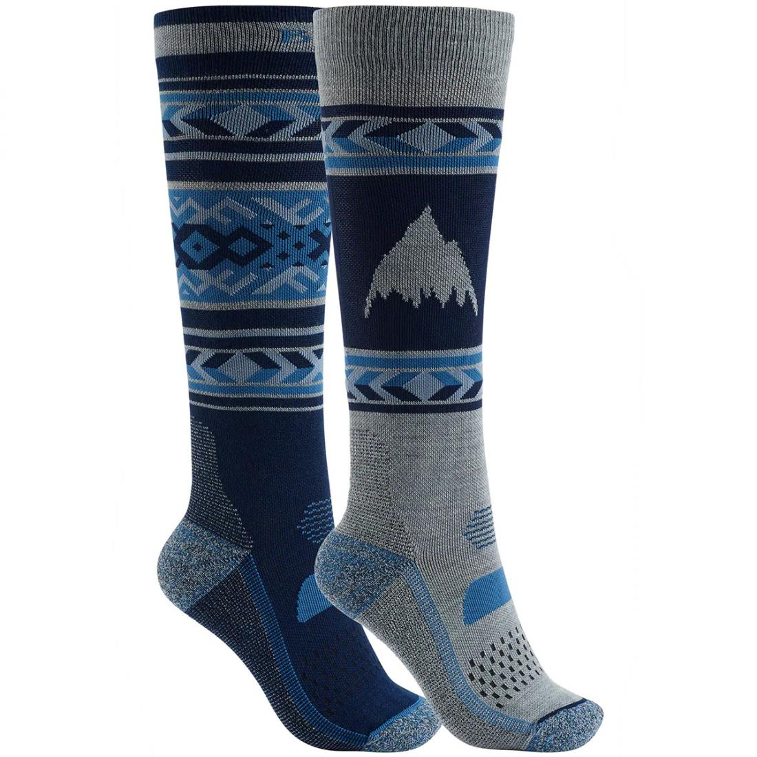 Носки сноубордические Burton Performance Lightweight Snowboard Sock 2 Pack купить в Boardshop №1