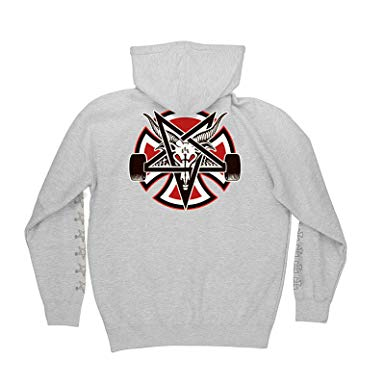 Толстовка Independent x Thrasher Pentagram Cross Pullover Hooded купить в Boardshop №1