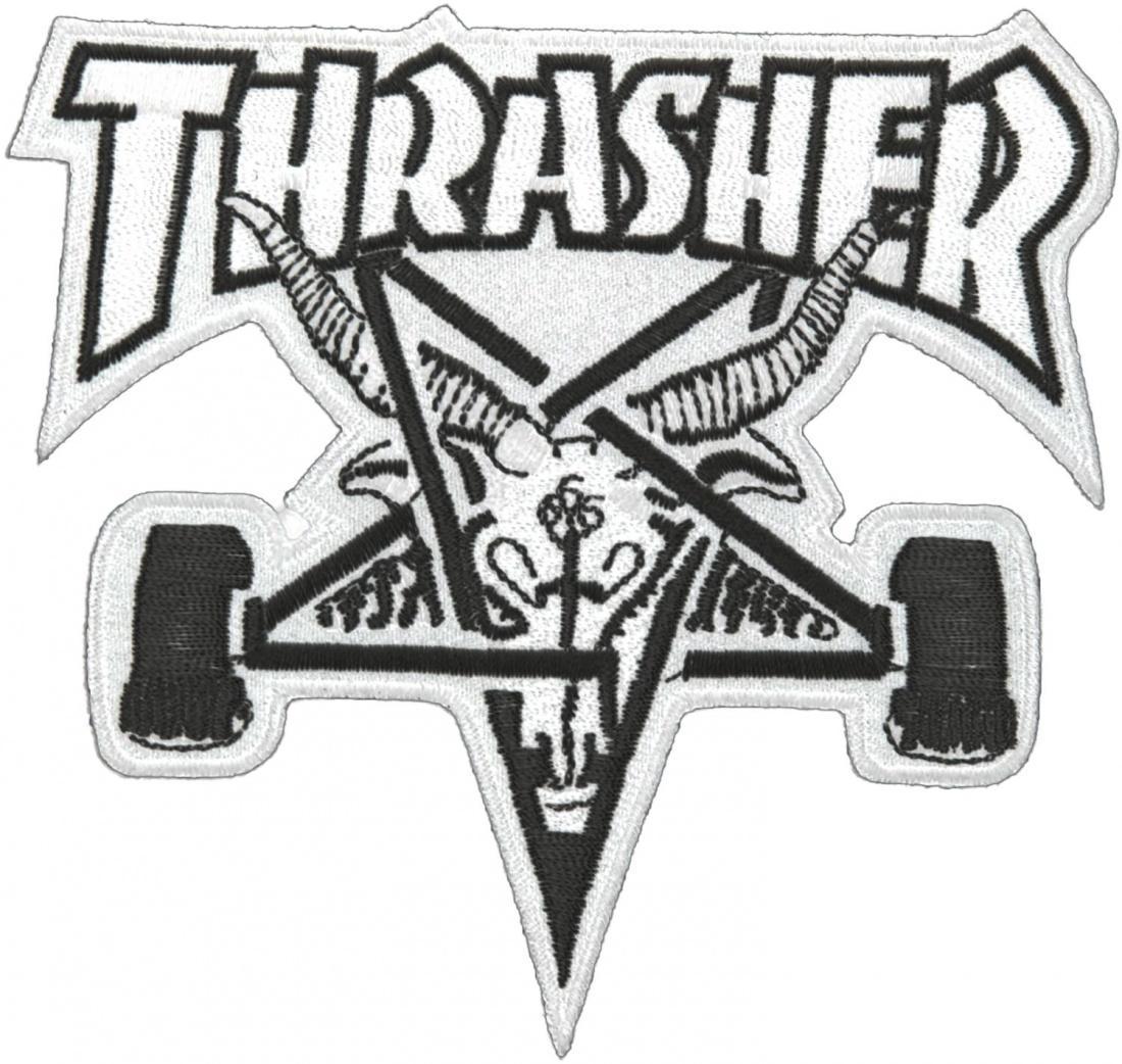 Нашивка Thrasher Skate Goat Patch купить в Boardshop №1