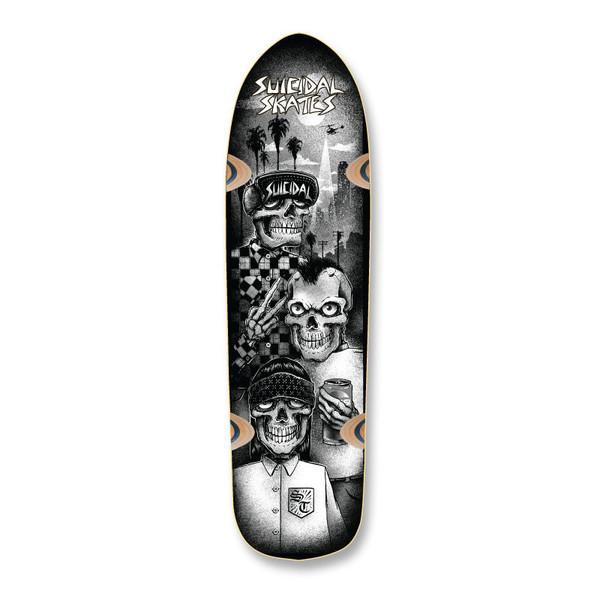 Дека для скейтборда Dogtown&Suicidal Tres Vatos Pool купить в Boardshop №1
