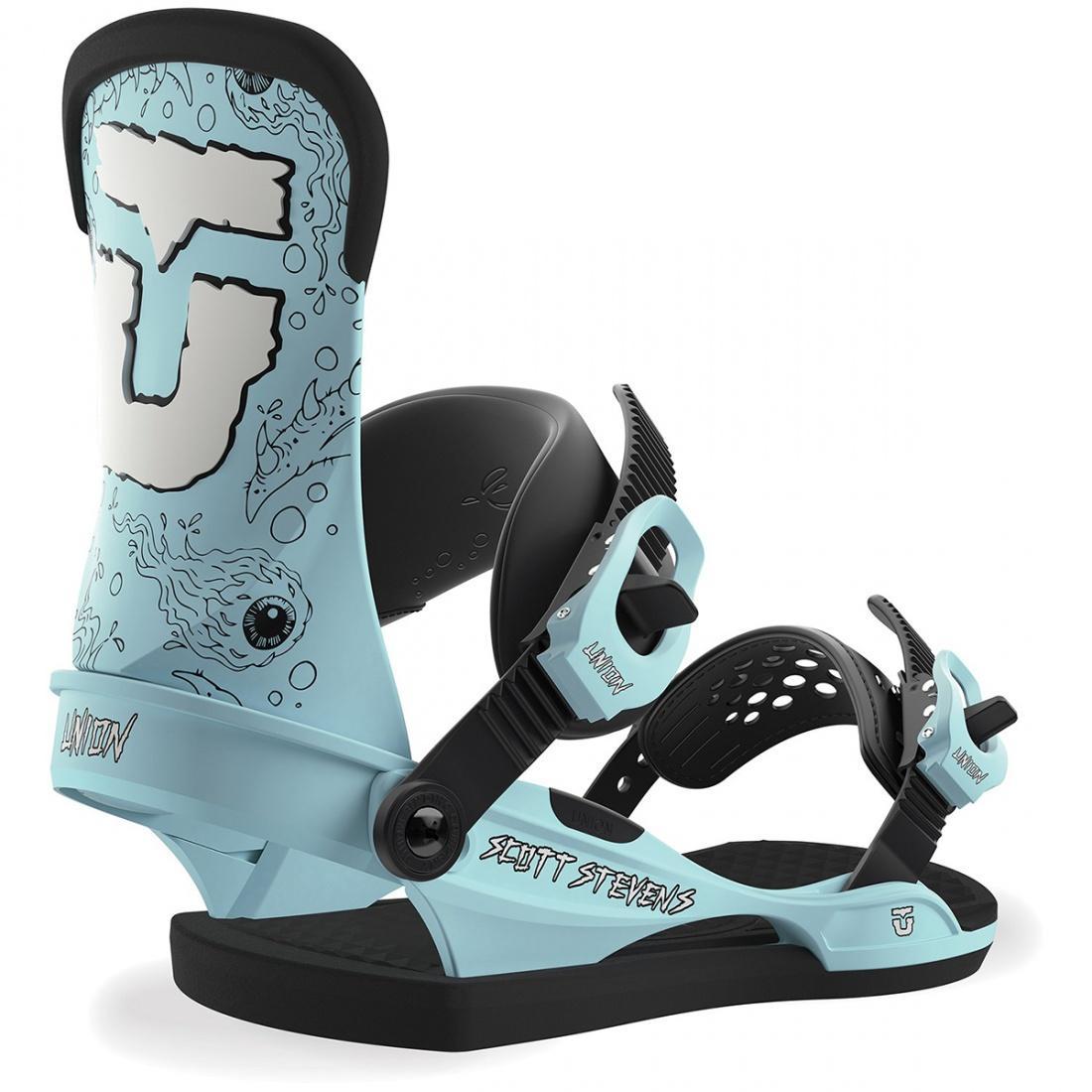 Крепления для сноуборда Union Scott Stevens купить в Boardshop №1