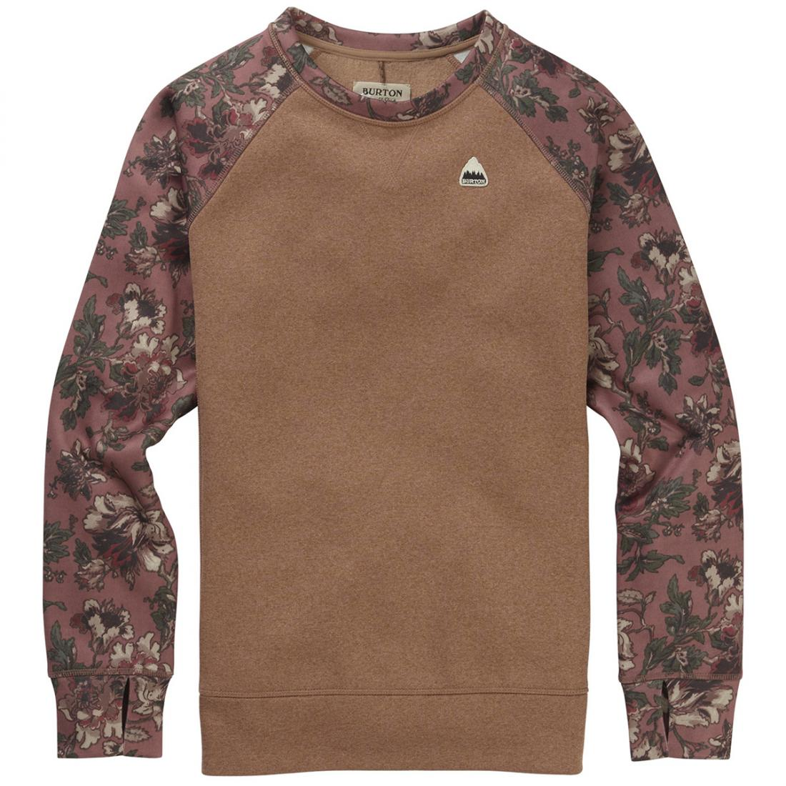 Свитшот Burton Oak Crew Sweatshirt купить в Boardshop №1