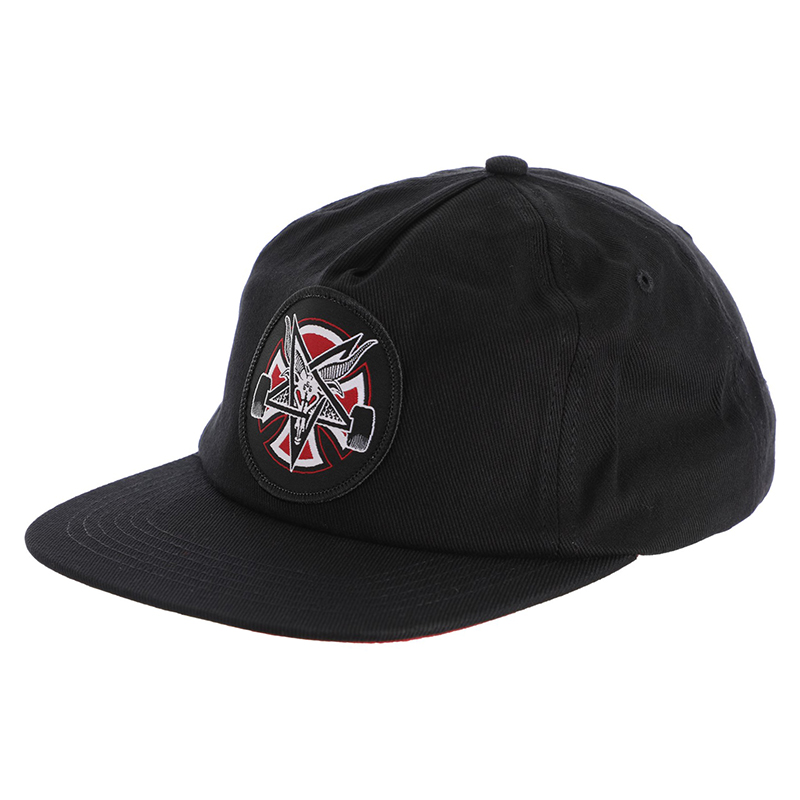 Бейсболка Independent x Thrasher Pentagram Cross Adjustable купить в Boardshop №1