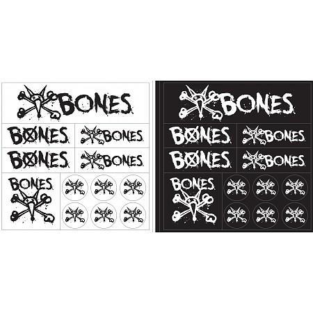 Наклейка Bones Multipak купить в Boardshop №1