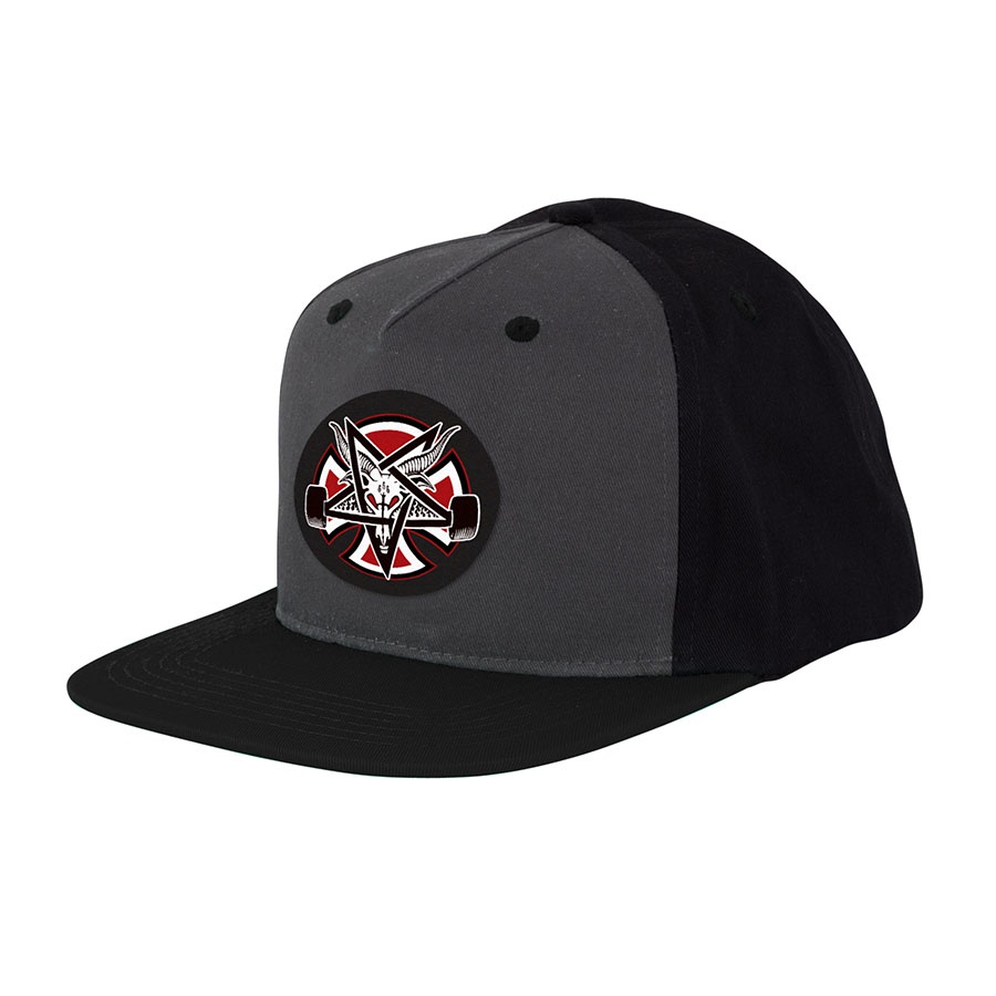 Бейсболка Independent x Thrasher Pentagram Cross Adjustable купить в Boardshop №1