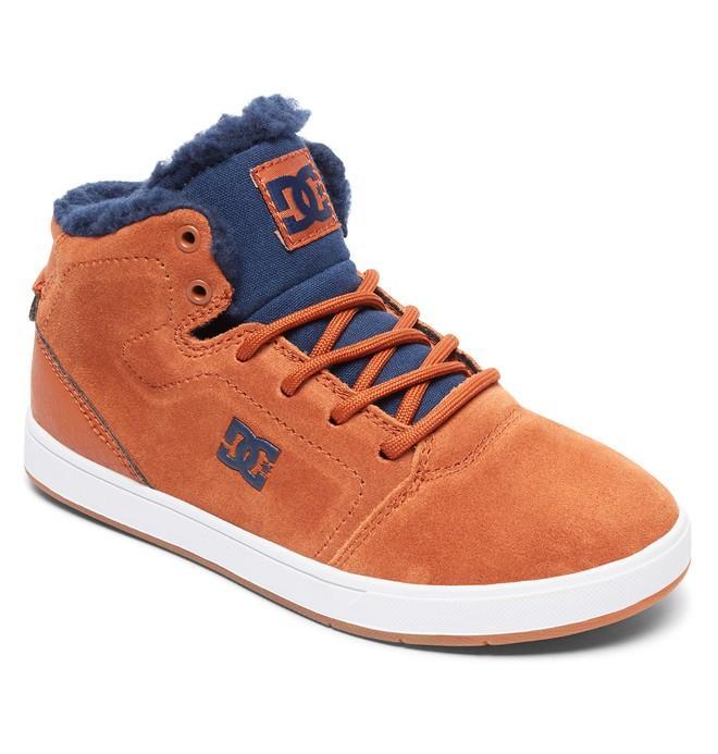 Детские зимние кеды DC shoes Crisis WNT купить в Boardshop №1