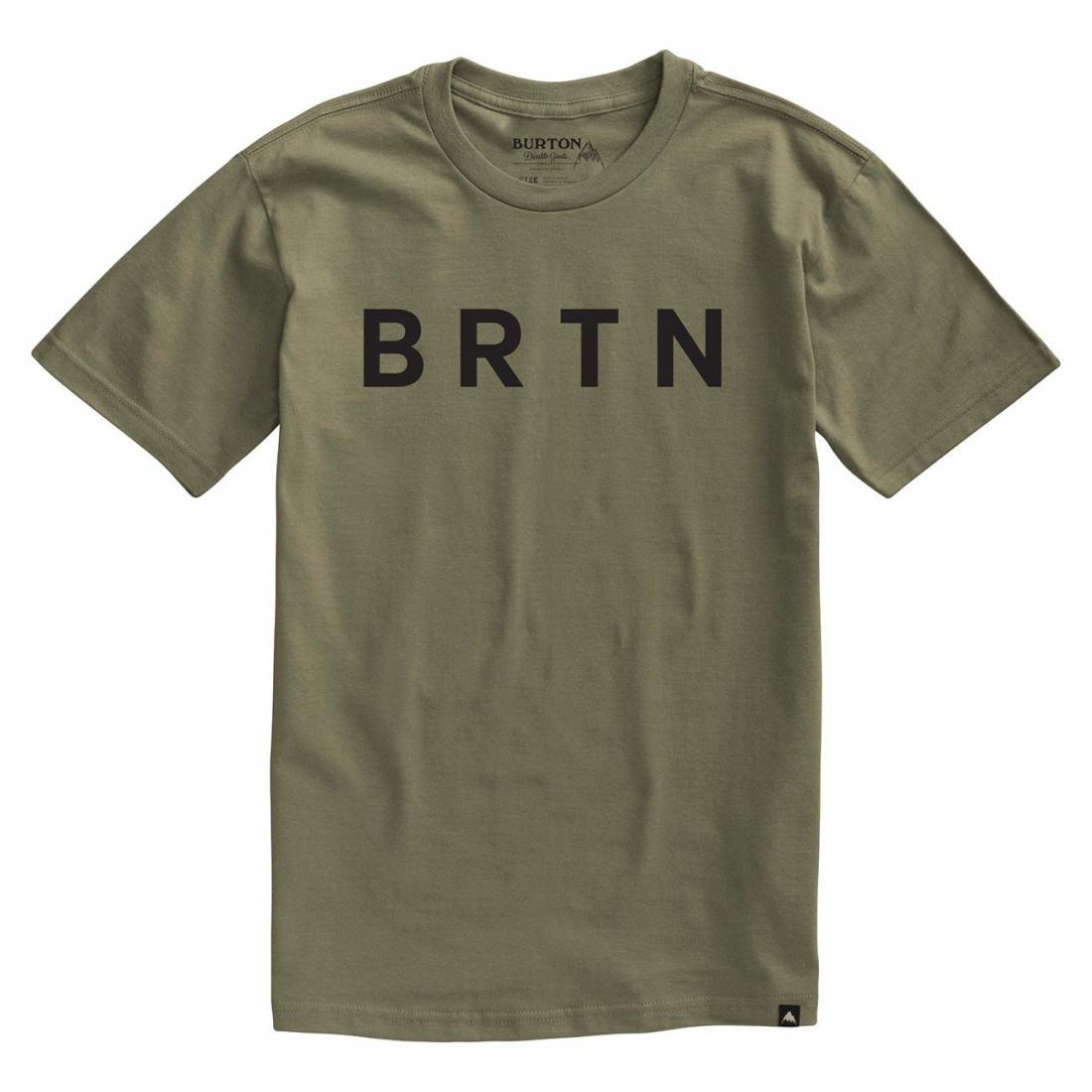 Футболка Burton BRTN Short Sleeve купить в Boardshop №1