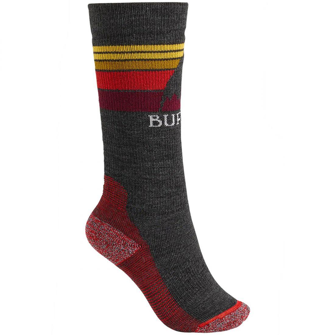 Детские сноубордические носки Burton Emblem Midweight  купить в Boardshop №1