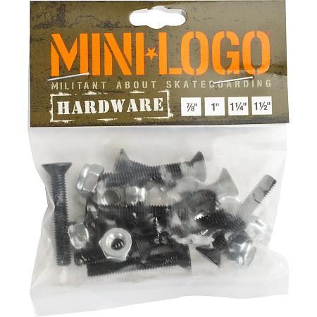 Винты для скейтборда Mini Logo Single Pack - 1 1/2 купить в Boardshop №1