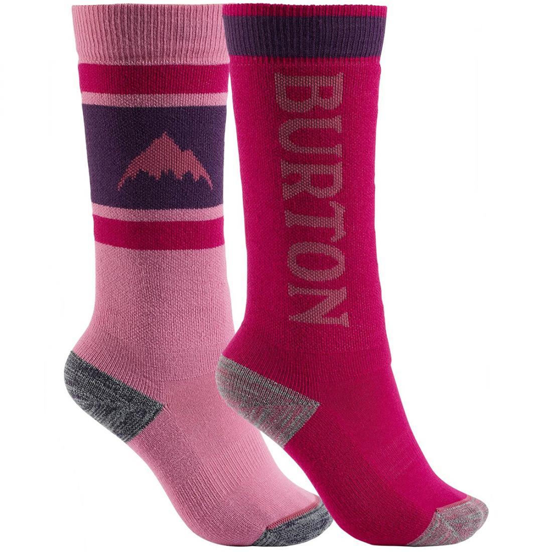 Детские сноубодические носки Burton Weekend Midweight Snowboard Sock Two-Pack купить в Boardshop №1