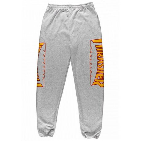 Штаны Thrasher Flame Sweatpants купить в Boardshop №1