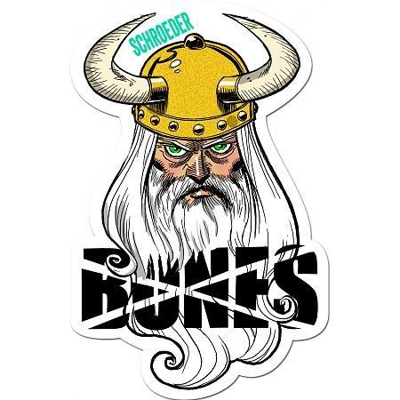 Наклейка Bones SCHROEDER VIKING купить в Boardshop №1