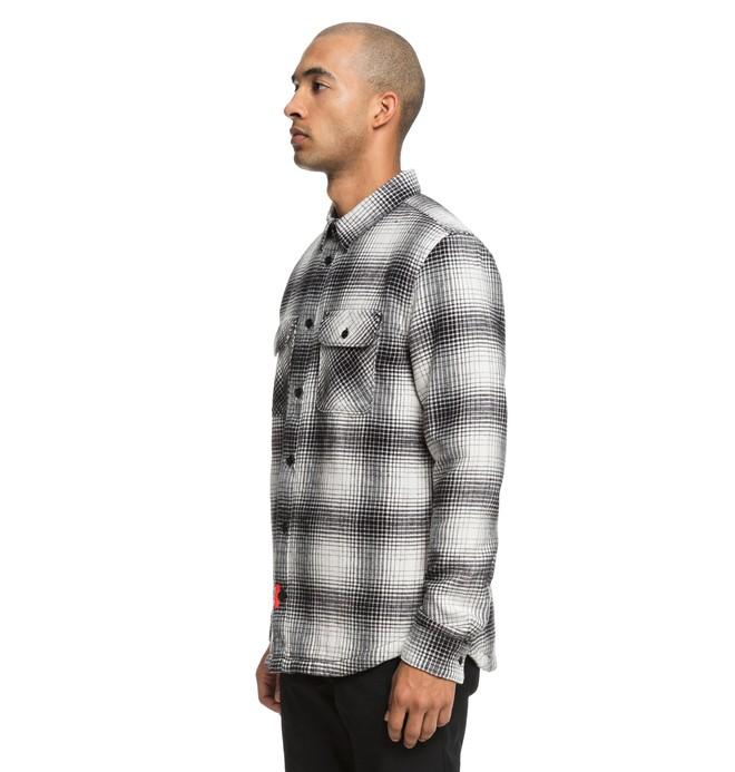 Рубашка DC shoes Ombre Flannel купить в Boardshop №1