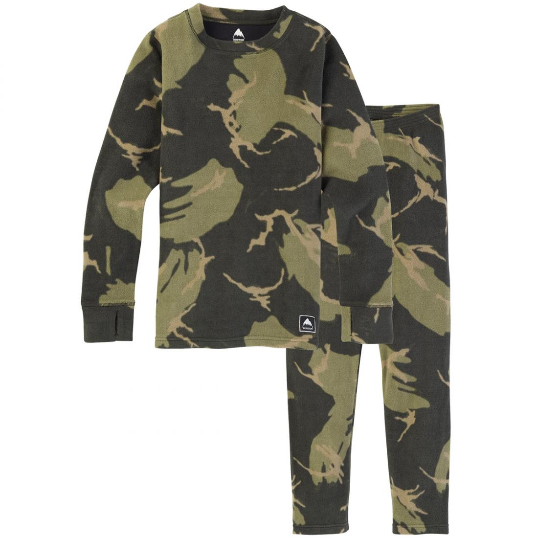 Детский комплект термобелья Burton Fleece Base Layer Set купить в Boardshop №1