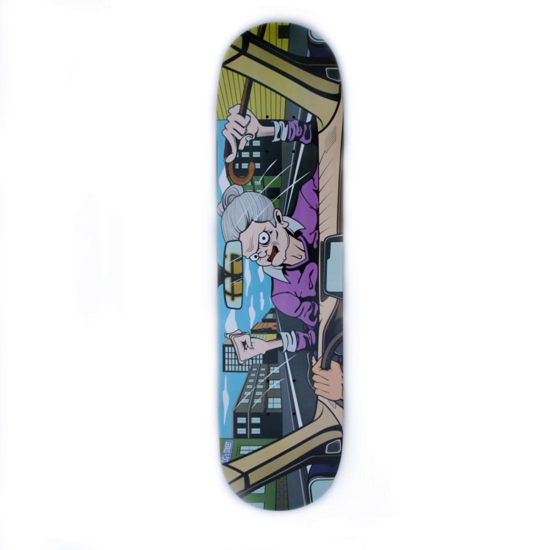 Дека для скейтборда OG Traffic Granny купить в Boardshop №1