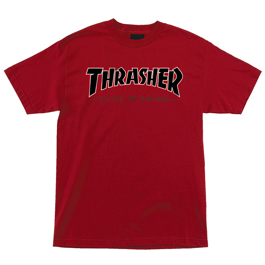 Футболка Independent x Thrasher TTG Regular купить в Boardshop №1